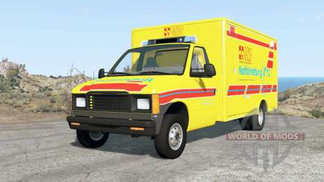 Gavril H-Series German Emergency v1.3 pour BeamNG Drive