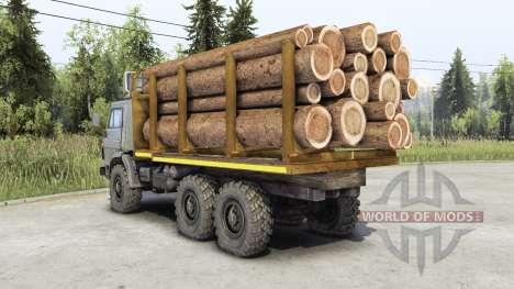 Kamaz 4310 pour Spin Tires