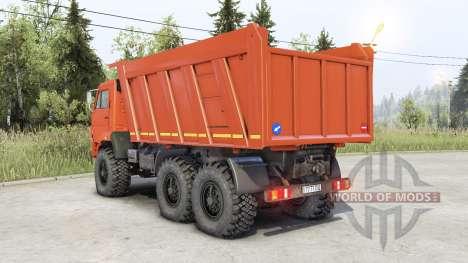 Kamaz 65222 pour Spin Tires