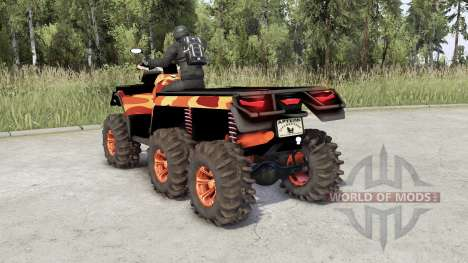 Can-Am Outlander 6x6 pour Spin Tires