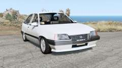 Opel Kadett 3-door (E) 1986 pour BeamNG Drive
