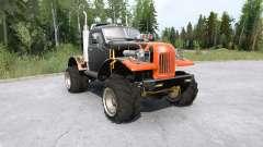 Sil-157 véhicule tout-terrain pour MudRunner