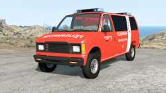 Gavril H-Series German Emergency v1.1 pour BeamNG Drive