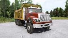 International WorkStar 6x4 Dump Truck 2008 pour MudRunner