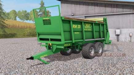 ZDT RM Ձ0 für Farming Simulator 2017