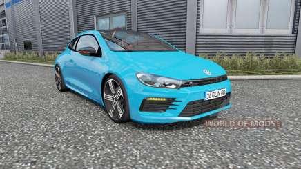 Volkswagen Scirocco R 201Ꝝ pour Euro Truck Simulator 2