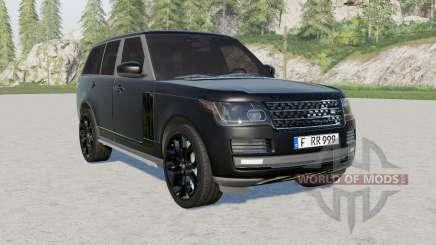 Range Rover Vogue (L405) 2013 Black für Farming Simulator 2017