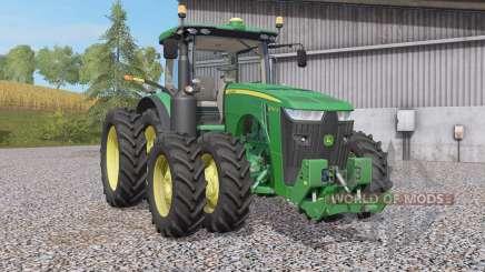 John Deere 8R-seꞅies pour Farming Simulator 2017