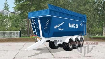 Ravizza Millenium 7200 SI für Farming Simulator 2015
