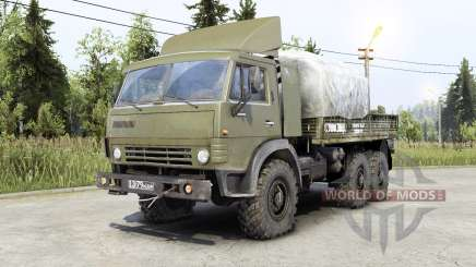 Kamaz-4ろ10 pour Spin Tires