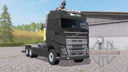 Volvo FH16 750 Globetrotter XL hooklift für Farming Simulator 2017