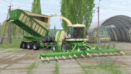 Krone BiG Ꭓ 1100 pour Farming Simulator 2015