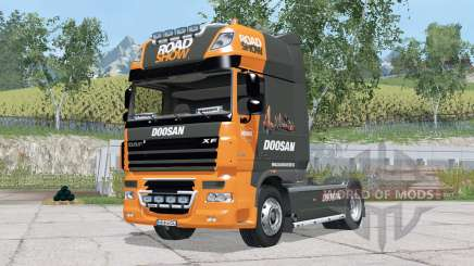 DAF XF105 FT Super Space Caᵬ für Farming Simulator 2015