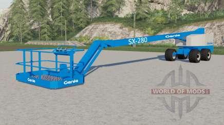 Genie SX-280 pour Farming Simulator 2017
