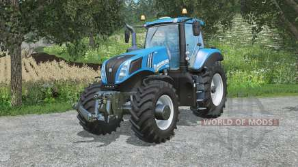 Nouvelle Hollande T8.4ӡ5 pour Farming Simulator 2015