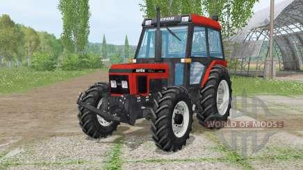 Zetor 7340 Turbꝋ pour Farming Simulator 2015