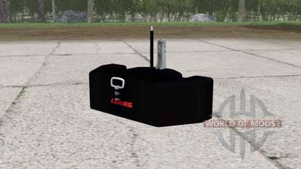 Claas weight v2.0 pour Farming Simulator 2015