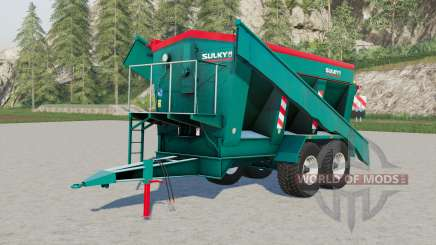 Sulky trailed fertiliser spreader pour Farming Simulator 2017