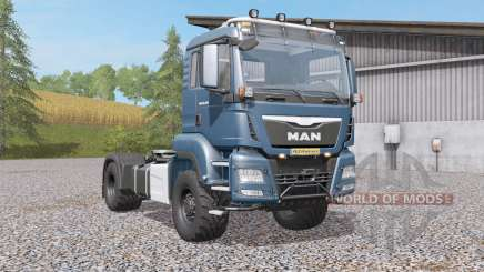 MAN TGS 18.4৪0 pour Farming Simulator 2017