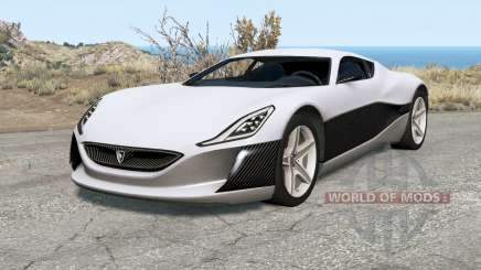 Rimac Concept One pour BeamNG Drive