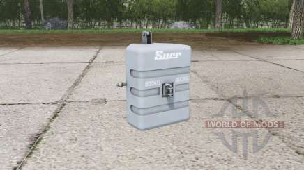 Suer weight 800 kg. pour Farming Simulator 2015