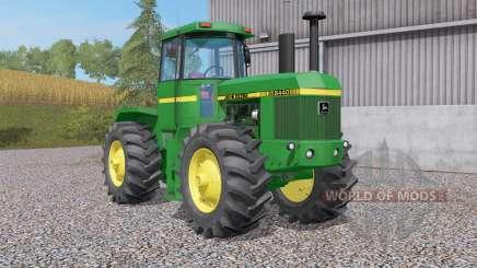 84ꝝ0 John Deere pour Farming Simulator 2017