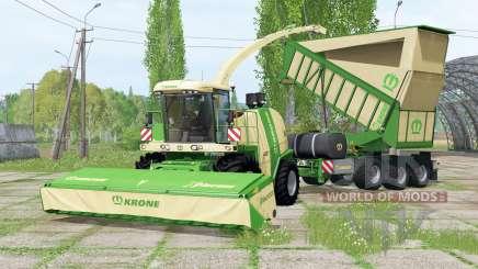 Krone BiG Ӽ 1100 pour Farming Simulator 2015