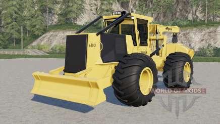 Tigercat 630D pour Farming Simulator 2017