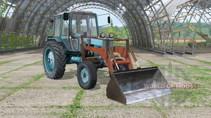 Mth-80 Belarus mit Lader für Farming Simulator 2015