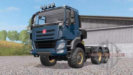 Tatra Phoenix T158 6x6 201ꝝ pour Farming Simulator 2017