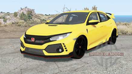 Honda Civic Type R (FK) 2019 pour BeamNG Drive