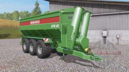 Bergmann GTW 430 tow hitch für Farming Simulator 2017