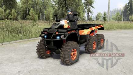 Can-Am Outlandeᵲ 6x6 pour Spin Tires
