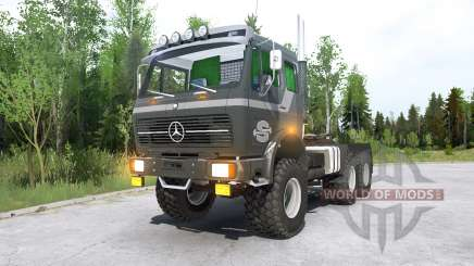 Mercedes-Benz NG 2632 (Br.395) 197Ꝝ für MudRunner