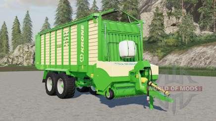 Krone ZX 450 GƊ pour Farming Simulator 2017