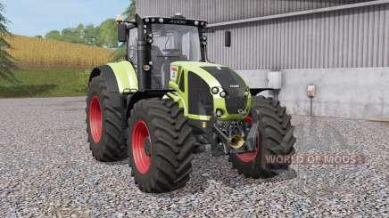 Claas Axioᶇ 900 pour Farming Simulator 2017