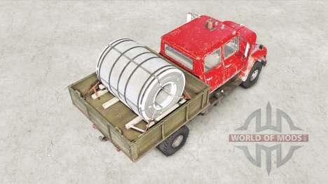 International Harvester Loadstar 1700 Crew Cab pour Spin Tires