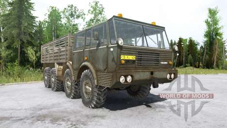 Tatra T813 pour Spintires MudRunner