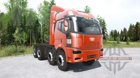 FAW Jiefang J6P 8x8 Truck Tractor pour Spintires MudRunner