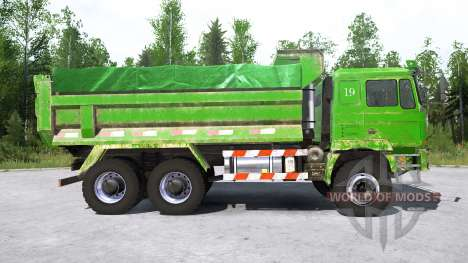 Shacman F3000 6x6 Dump Truck pour Spintires MudRunner