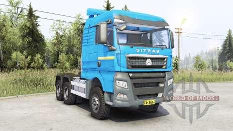 Sitrak C7H pour Spin Tires