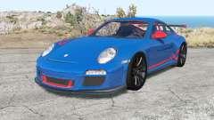 Porsche 911 GT3 RS (997) Ձ009 pour BeamNG Drive