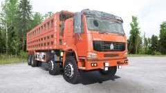 Howo 8x8 dump truck 2008 pour MudRunner