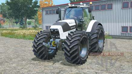Deutz-Fahr 7250 TTV Agrotron white edition für Farming Simulator 2015
