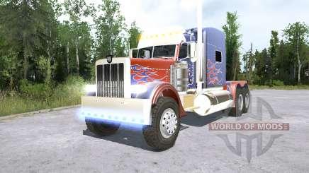 Peterbilt 389 Optimus Prime für MudRunner