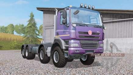 Tatra Phoenix T158 hooklift 8x8 pour Farming Simulator 2017