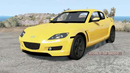 Mazda RX-8 2004 pour BeamNG Drive