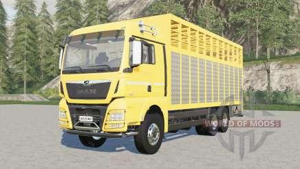 MAN TGX livestock truck pour Farming Simulator 2017