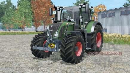 Fendt 718 Variꝋ pour Farming Simulator 2015