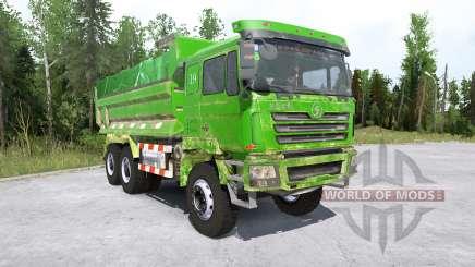 Shacman F3000 6x6 Dump Truck für MudRunner